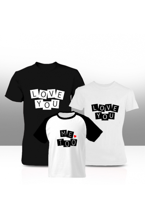 8a2308da Love you family tees (adults only)| Cherri